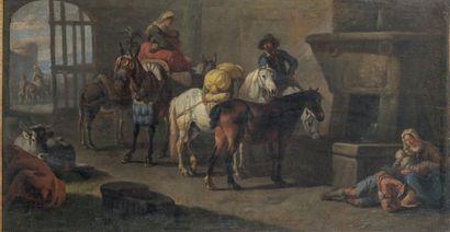 Attribué à Pieter van BLOEMEN (1657-1720)