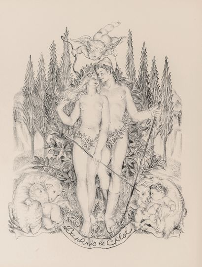 COLLOT (André). Les voyeurs. Avec 12 compositions gravées à l'eau-forte. Parsi, s.d.,...