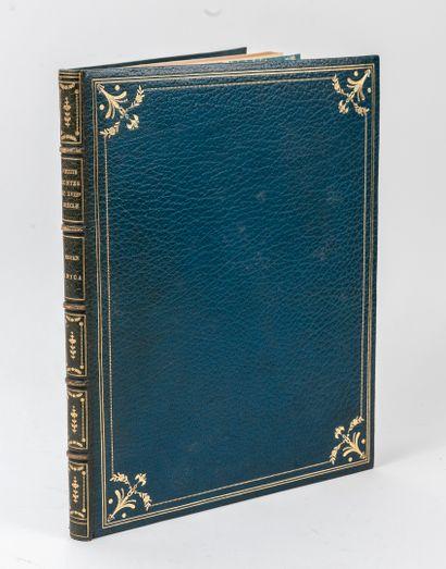 ROJAN. Quelques petits contes du XVIIIe siècle. Inédits ou peu connus. S.L., s.d.,...