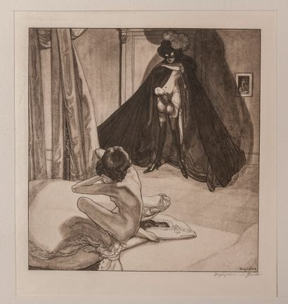 BAYROS (Franz von, CHOISY LE CONIN). Bilder aus dem Boudoir der Madame C.C. Dreissig...