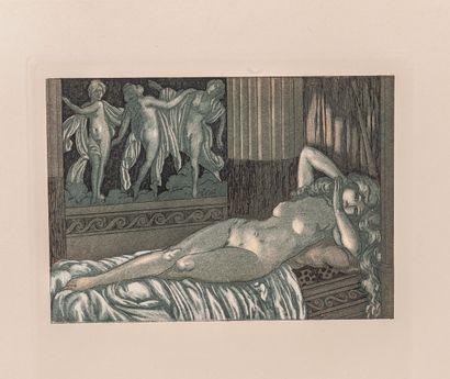 BLASCO IBANEZ (Vicente) - BECQUE (Maurice de). Sonnica la courtisane. Paris, chez...
