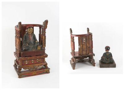 CHINE, début du XXème siècle