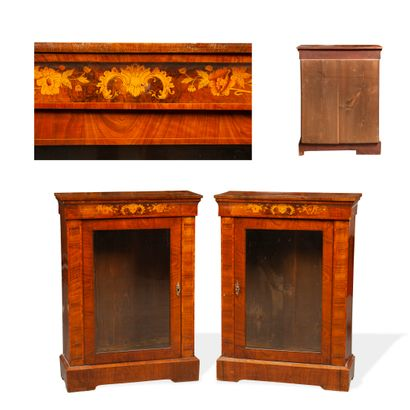 Pair of small furniture with height of support...