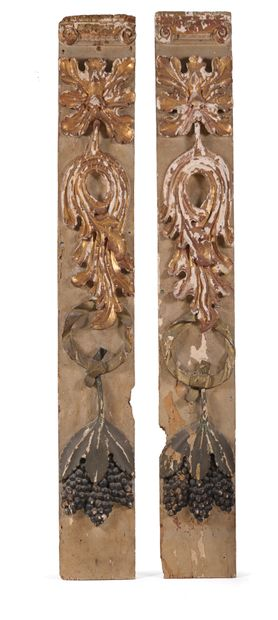 Éléments décoratifs du XVIIIème siècle.