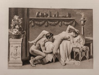 FORBERG (F.K.). Manuel d'érotologie classique. (De figuris veneris).  Paris, 1906,...