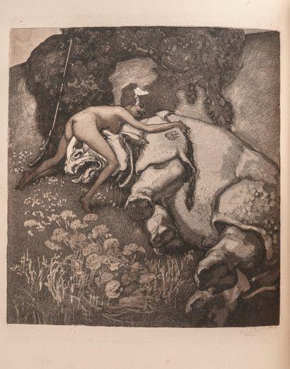 BAYROS (Franz von,1866-1924) - SARTORI (Emil) Die Bonbonniere galante und artige...