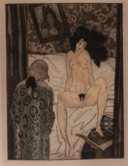 CREBILLON LE FILS - [SAUVAGE (Sylvain)]. La nuit et le moment ou les matinées de...