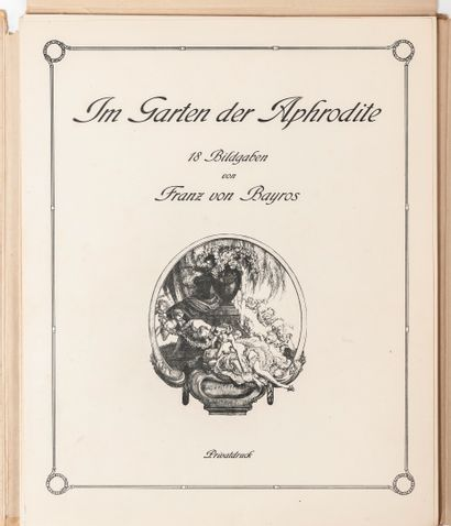 BAYROS (Franz von).