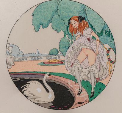 [PERCEAU (Louis, Alias Alexandre de VERINEAU)]. Douze sonnets lascifs pour accompagner...