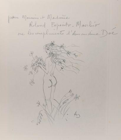 RONSARD (Pierre de) - DORE (Amandine). Les amours. Paris, Plaisir du livre, 1967,...