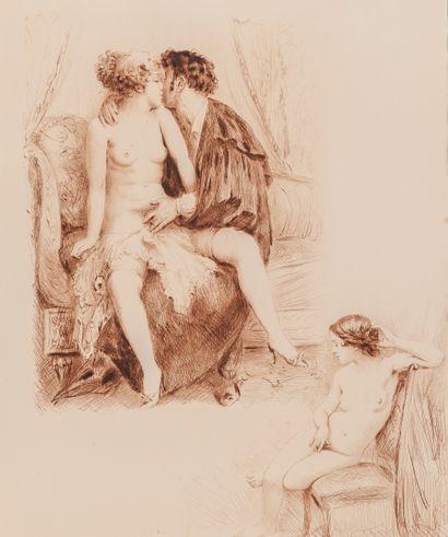 PILLET (Roger) - BECAT (Paul-Emile). Les oraisons amoureuses de Jeanne Aurélie Grivolin...