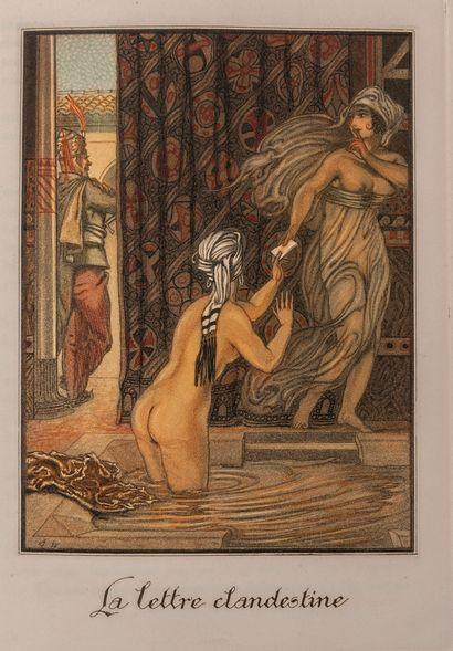 OVIDE - LAMBERT (André). P. Ovidii nasonis. L'art d'aimer. Paris, le Livre du Bibliophile,...