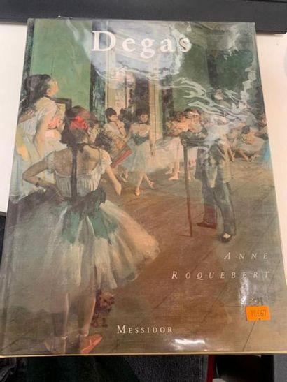 Edgar Degas, Editions Messidor, 1 vol. in-folio,...