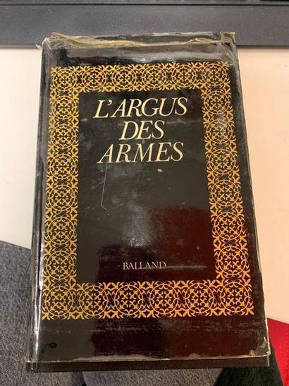 CLERGEAU Jean-René L'argus des armes. Editions Balland. 1 vol. in-8, bound. State...