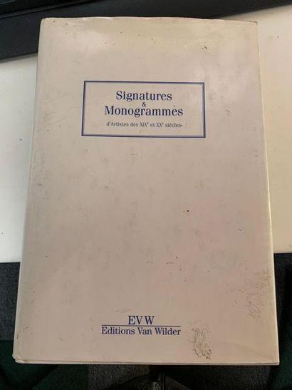 Signatures et monogrammes d'artistes des...