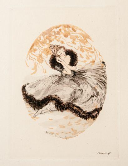 D'après Louis Icart (1888-1950) & MAQUET, Paris