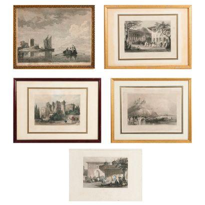 Ecoles orientalistes ou autre sujet du XIXème ou début du XXème siècles