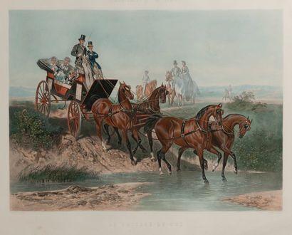 Deux gravures anglaises  - D'après E. GUERARD....