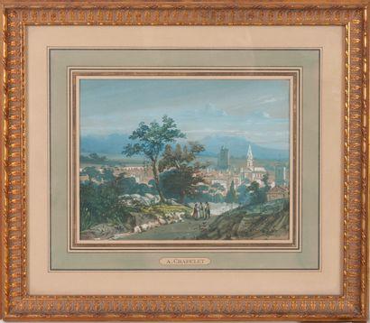 D'après Louis Amable CRAPELET (1822-1867)