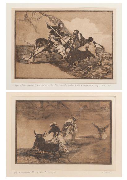 D'après Francisco de GOYA (1746-1828)