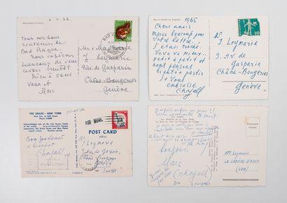 Marc CHAGALL (1887-1985) & Valentina BRODSKY-CHAGALL (1905-1993)