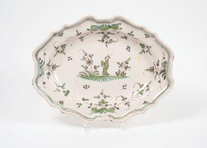 Dans le goût de Moustiers, XIXème siècle