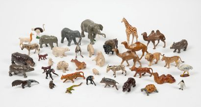 Large lot of animals from Africa, America...