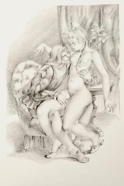 LOUYS, Pierre Les aventures du roi Pausole.  Illustrations de Suzanne Ballivet.  Editions...