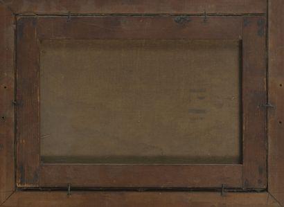 Pierre FARGE (1878-1947) Les grands boulevards, Paris.  Huile sur toile.  Signée...