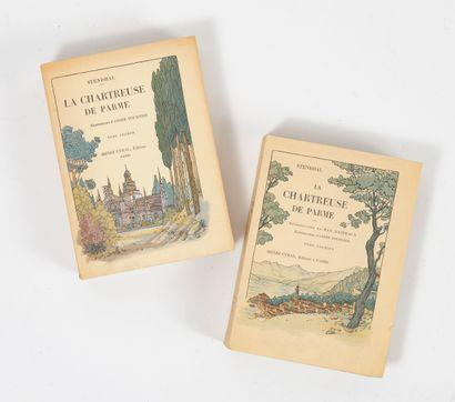 STENDHAL La chartreuse de Parme.  Illustrations d'André FOURNIER.  Henry CYRAL, éditeur,...