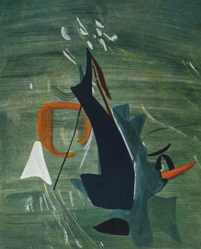 COLLECTIF Hans Hartung, Oeuvres de 1920 à 1939.  Plaquette, Galerie de France, Paris,...
