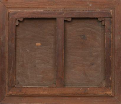 Gustave MADELAIN (1867-1944) La foire à la ferraille, circa 1925.  Huile sur toile....