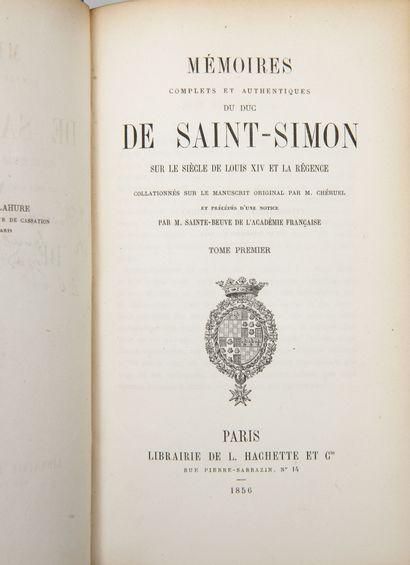 SAINT-SIMON (Duc de).