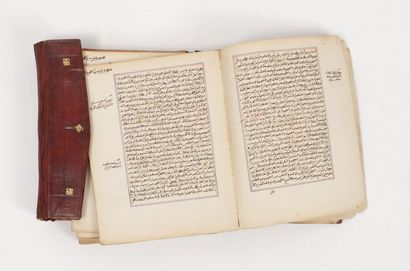 Manuscrit religieux maghrébin, commentaire sur sharh al-Zarqani