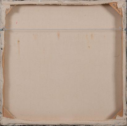 BUDIAWAN (1972) Sans titre, 2009.  Huile sur toile.  Signée en bas au centre.  60...