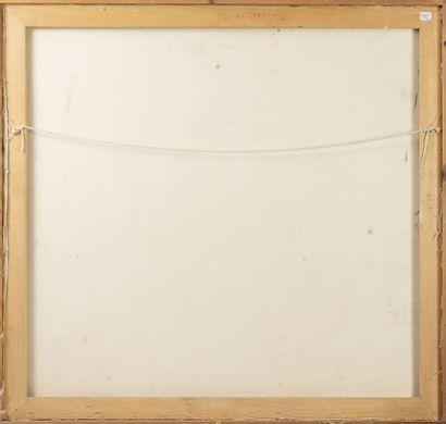 Nurden BILKI (XXème - XXIème siècle) Sans titre, 1996.  Huile sur toile.  Signée...