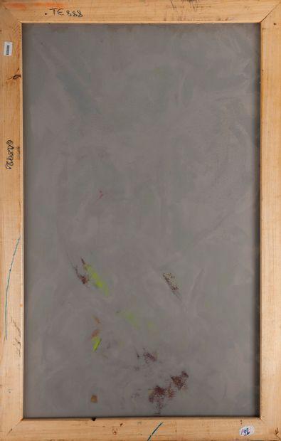 Francky CRIQUET (1968) Sans titre.  Huile sur toile.  Signée en bas à gauche.  147...