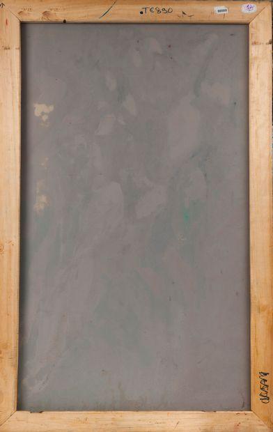 Francky CRIQUET (1968) Sans titre.  Huile sur toile.  Signée en bas vers la gauche....