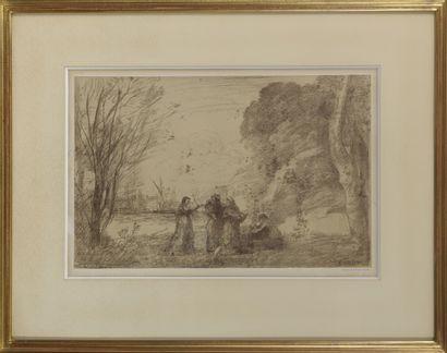 D'après Camille COROT (1796-1875)