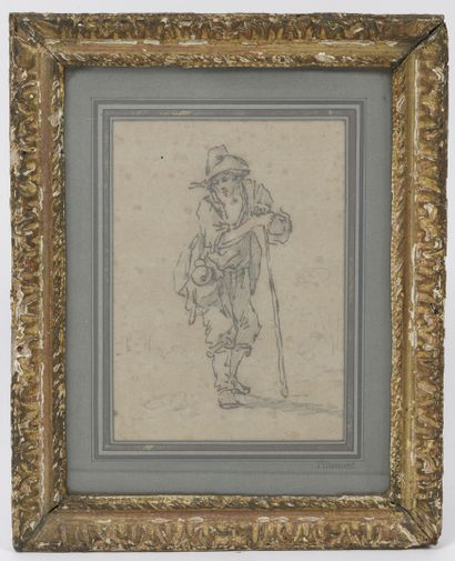 Attribué à Jean-Baptiste PILLEMENT (1728-1808)