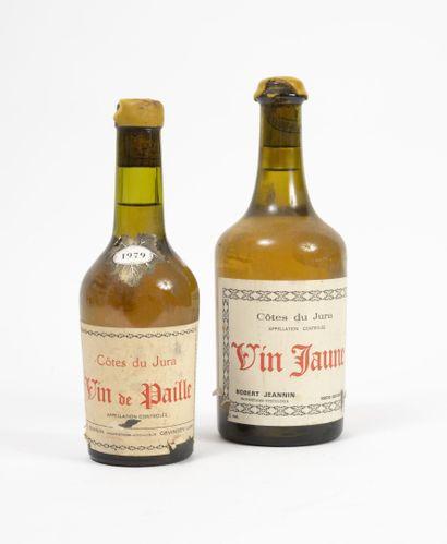 VIN JAUNE & VIN DE PAILLE