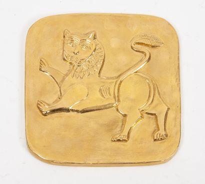 Plaque décorative commémorant les 1300 ans...