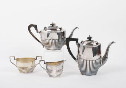 WMF (Württembergische Metallwarenfabrik ) ou SHEFFIELD Service thé-café (recomposé)...