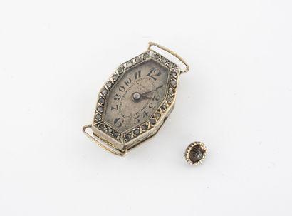 Boîtier de montre bracelet de dame, de forme...