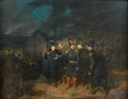 Attribué à Auguste RAFFET (1804-1860)