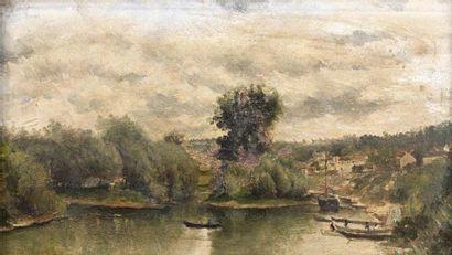 Attribué à Stanislas LEPINE (1835-1892)