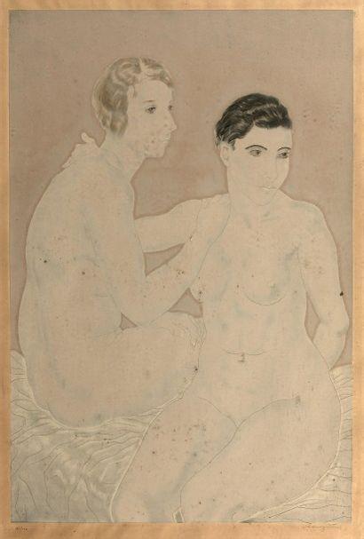 Léonard - Tsuguharu FOUJITA (1886 - 1968)