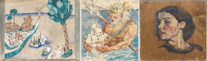 Pierre ROY OEuvres de jeunesse de Pierre ROY (artiste surréaliste) : paysages, oeuvres...