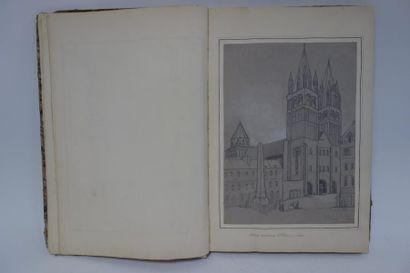 Ecole du XIXème siècle.  Paysages et monuments...