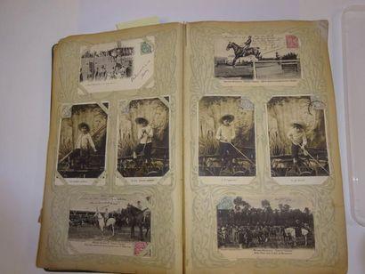 Album de cartes postales sur différents thèmes...